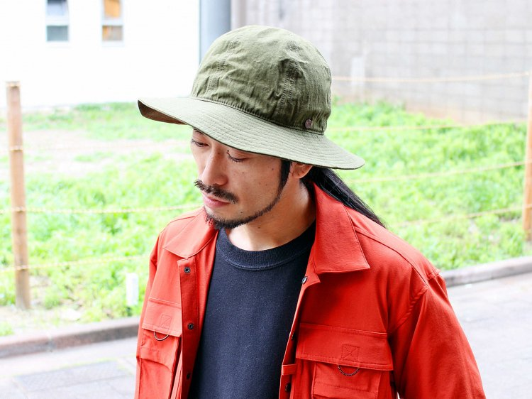 C/L 高密度WEATHER CLOTH METRO HAT 【KHAKI】 / morno モーノ