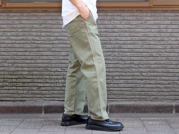 ORIGINAL BEAKER PANTS 【OLIVE】 / GUNG HO