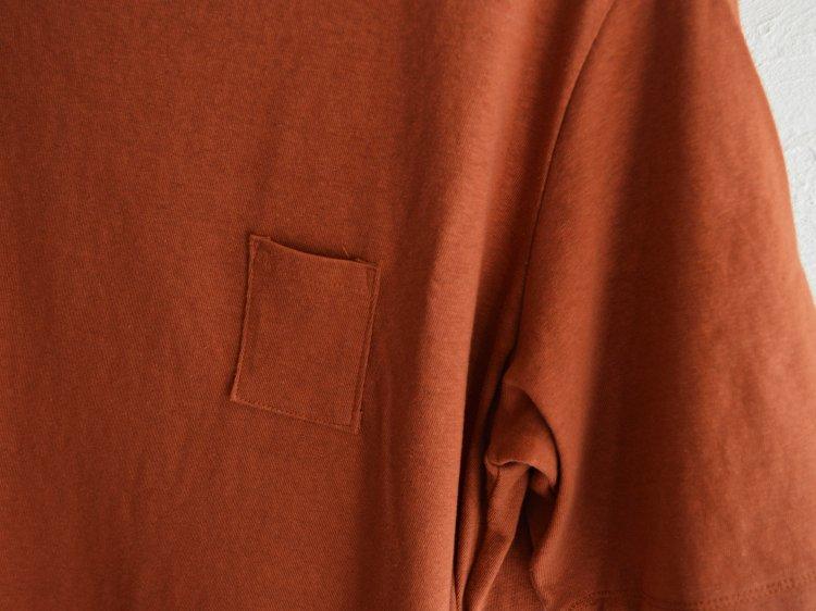 3Pocket T-Shirt Middle length 【RED】 / HUE