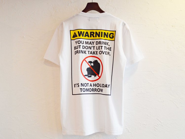WARNING 【WHITE】 / Nasngwam.