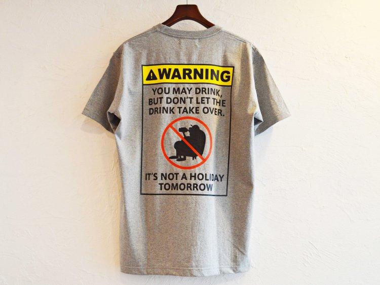 WARNING 【GRAY】 / Nasngwam.