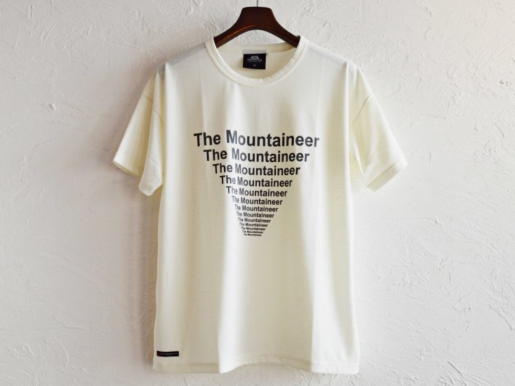 Graphic Tee (The Mountaineer) 【White】 / MOUNTAIN EQUIPMENT