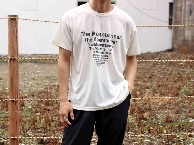 Graphic Tee (The Mountaineer) 【White】 / MOUNTAIN EQUIPMENT マウンテンイクィップメント