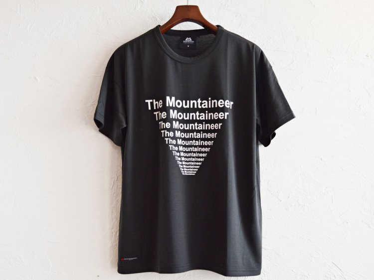 Graphic Tee (The Mountaineer) 【Black】 / MOUNTAIN EQUIPMENT