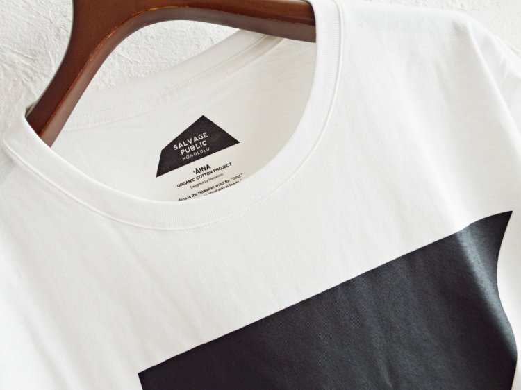 Logo Assym 【WHITE】 / SALVAGE PUBLIC<img class='new_mark_img2' src='https://img.shop-pro.jp/img/new/icons1.gif' style='border:none;display:inline;margin:0px;padding:0px;width:auto;' />