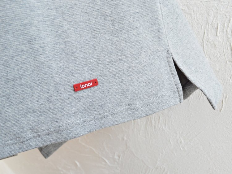 HABIT TEE 【GRAY】 / ionoi
