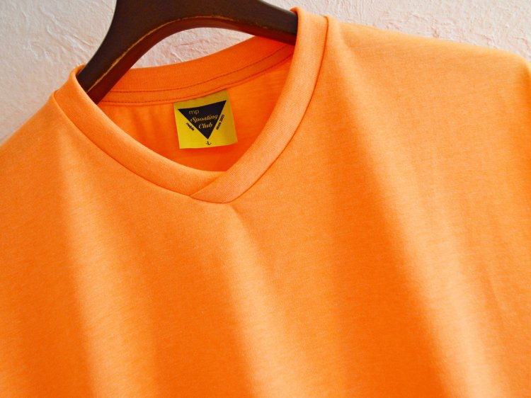Neon W Sleeve 【ORANGE】 / melple<img class='new_mark_img2' src='https://img.shop-pro.jp/img/new/icons1.gif' style='border:none;display:inline;margin:0px;padding:0px;width:auto;' />