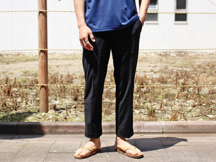 Tomcat CLUB PANTS 【BLACK】 / melple メイプル
