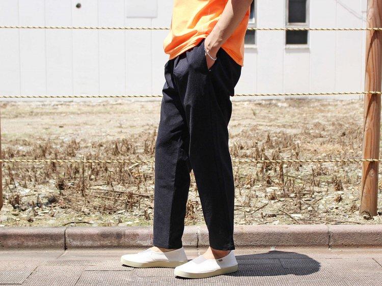 SHARI PANTS 【NAVY】 / LAMOND