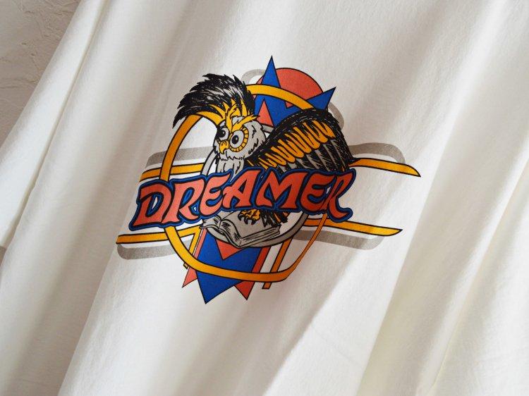 Dreamer Dolman Sleeve Big T 【White】 / ALDIES