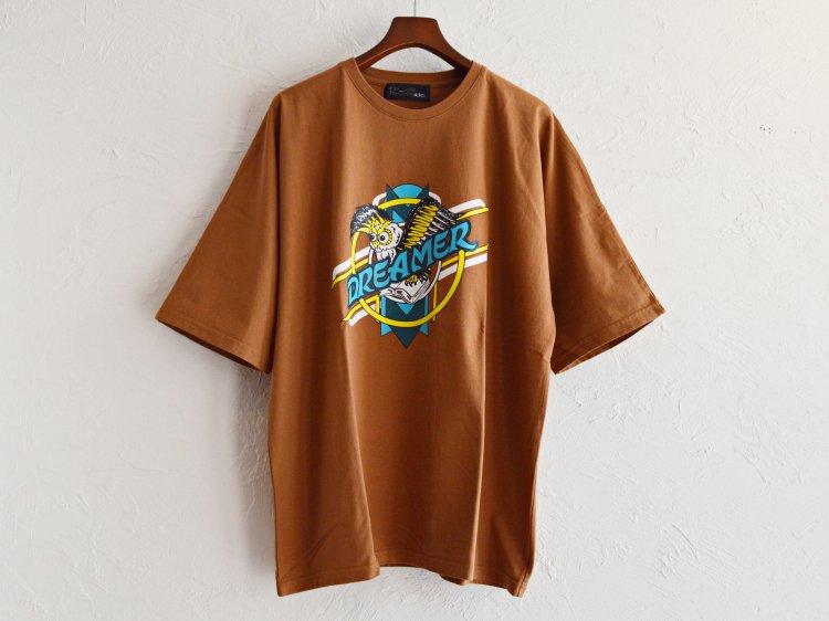 Dreamer Dolman Sleeve Big T 【Brown】 / ALDIES