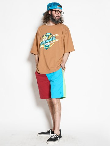 Dreamer Dolman Sleeve Big T 【Brown】 / ALDIES