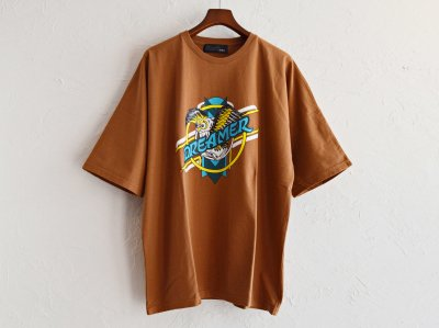 Dreamer Dolman Sleeve Big T 【Brown】 / ALDIES<img class='new_mark_img2' src='https://img.shop-pro.jp/img/new/icons1.gif' style='border:none;display:inline;margin:0px;padding:0px;width:auto;' />
