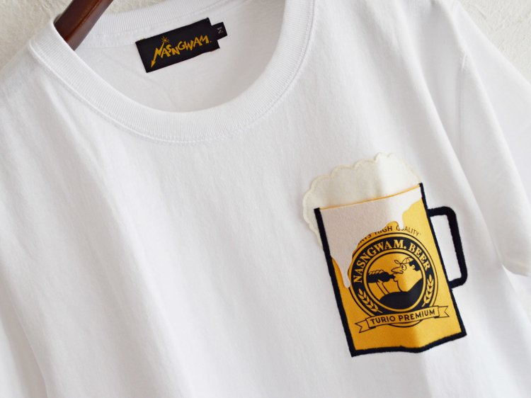BEER 【WHITE】 / Nasngwam.<img class='new_mark_img2' src='https://img.shop-pro.jp/img/new/icons1.gif' style='border:none;display:inline;margin:0px;padding:0px;width:auto;' />