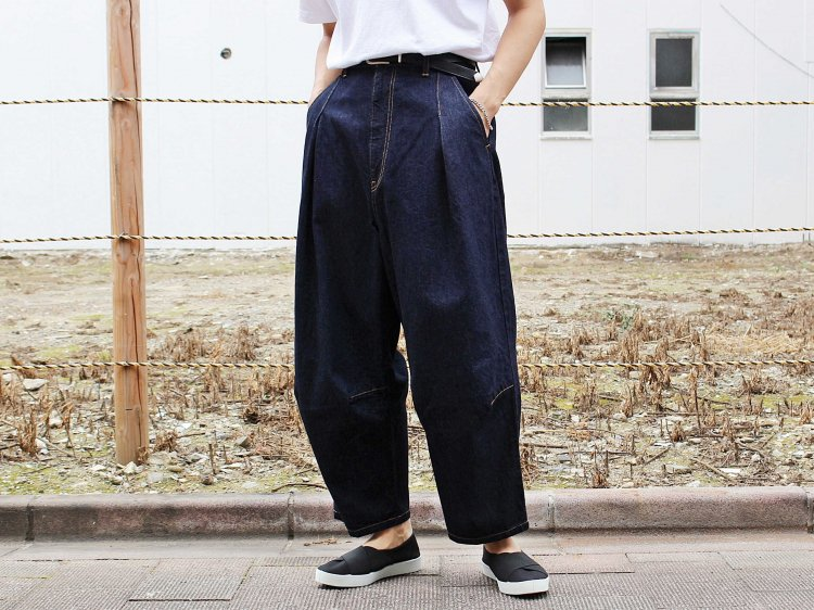 NAJA PANTS 【INDIGO】 / TEXTURE WE MADE