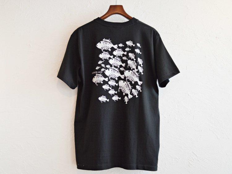 S/S TEE (SKULL FISH) 【BLACK】 / BRONZE AGE