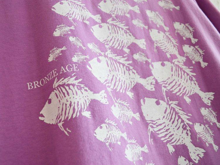 S/S TEE (SKULL FISH) 【LAVENDER】 / BRONZE AGE