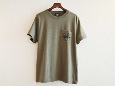 S/S TEE (BANDANA) 【OLIVE】 / BRONZE AGE<img class='new_mark_img2' src='https://img.shop-pro.jp/img/new/icons1.gif' style='border:none;display:inline;margin:0px;padding:0px;width:auto;' />