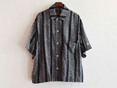 Plant Wide Shirt 【BLACK】 / ALDIES<img class='new_mark_img2' src='https://img.shop-pro.jp/img/new/icons1.gif' style='border:none;display:inline;margin:0px;padding:0px;width:auto;' />