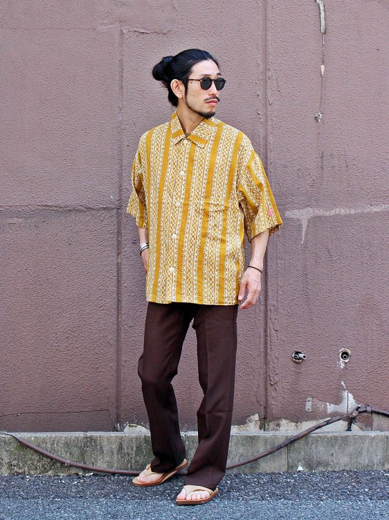 Plant Wide Shirt 【YELLOW】 / ALDIES