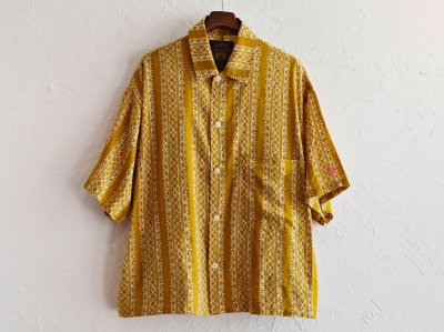 Plant Wide Shirt 【YELLOW】 / ALDIES<img class='new_mark_img2' src='https://img.shop-pro.jp/img/new/icons1.gif' style='border:none;display:inline;margin:0px;padding:0px;width:auto;' />