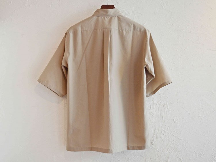 WIDE SHIRTS 【GRAY BEIGE】 / LAMOND<img class='new_mark_img2' src='https://img.shop-pro.jp/img/new/icons1.gif' style='border:none;display:inline;margin:0px;padding:0px;width:auto;' />