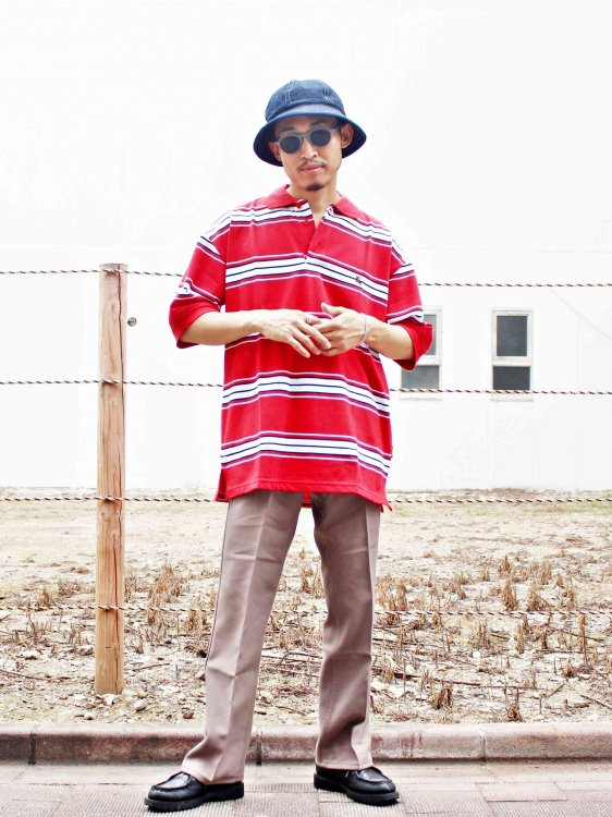 GERONIMO POLO 【RED】  / Nasngwam.