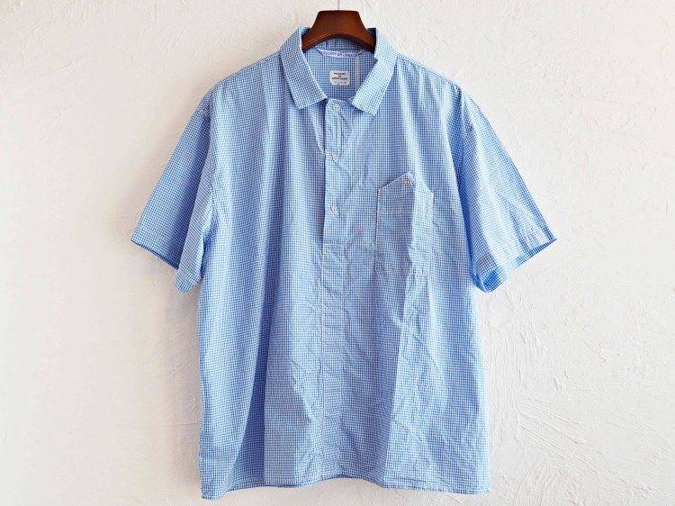 NEW GARAGE GINGHAM  【BLUE-CHECK】 / necessary or unnecessary