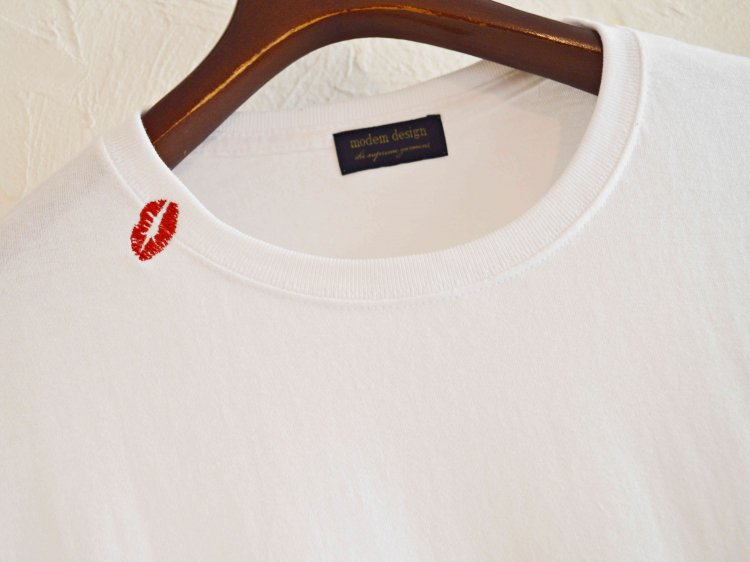BIG S/S TEE (out of the bag) 【WHITE】 / modemdesign<img class='new_mark_img2' src='https://img.shop-pro.jp/img/new/icons1.gif' style='border:none;display:inline;margin:0px;padding:0px;width:auto;' />