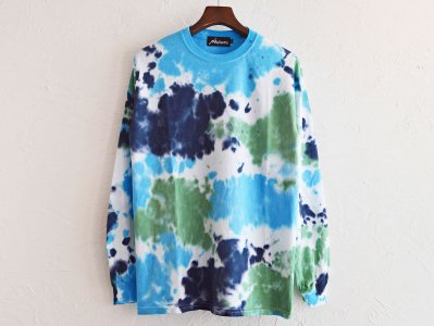 EARTH L/S TEE 【DEEP SEA】 / Nasngwam.<img class='new_mark_img2' src='https://img.shop-pro.jp/img/new/icons1.gif' style='border:none;display:inline;margin:0px;padding:0px;width:auto;' />