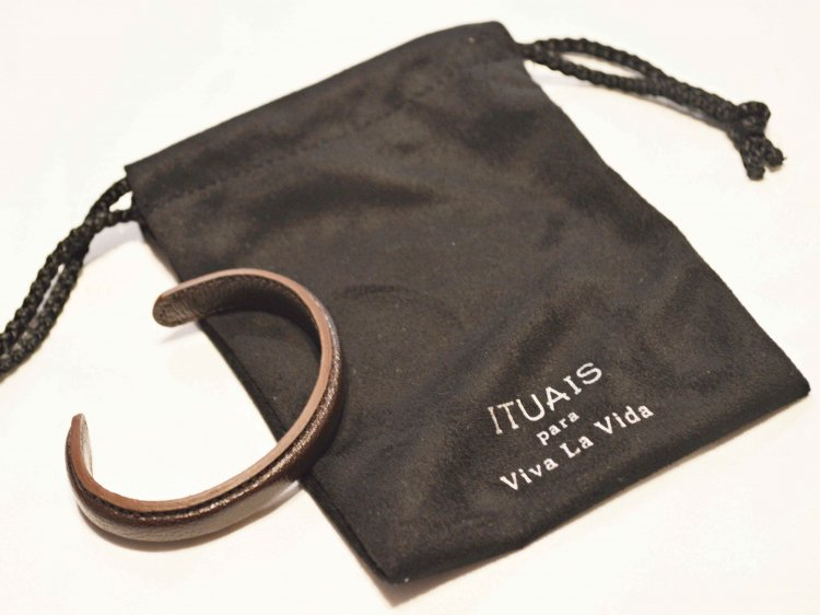 Chevre Bangle 【DarkBrown】 / ITUAIS