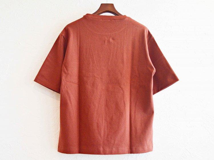 AUTUMN TERRY CLOTH TEE 【BROWN】 / LAMOND