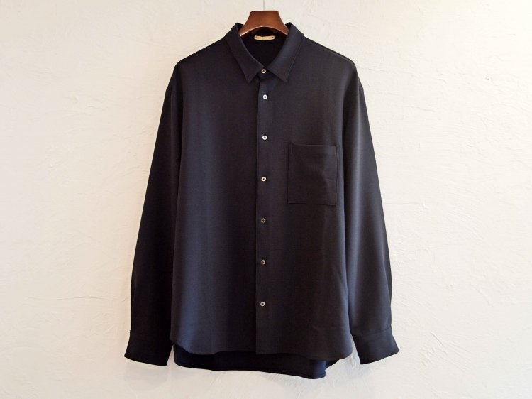 2WAY OX SHIRT 【DARK NAVY】 / LAMOND