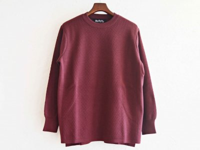 COTTON THERMAL L/S KNIT 【BURGUNDY】 / RoToTo<img class='new_mark_img2' src='https://img.shop-pro.jp/img/new/icons1.gif' style='border:none;display:inline;margin:0px;padding:0px;width:auto;' />