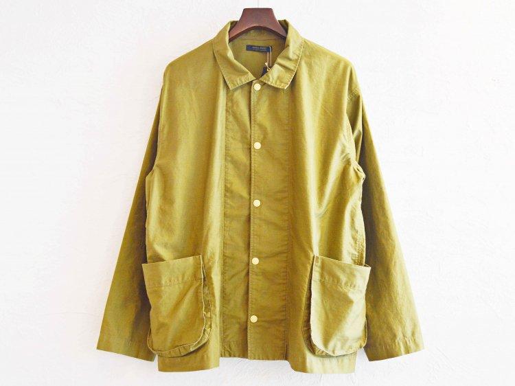gusset pocket jacket 【khaki】 / modemdesign