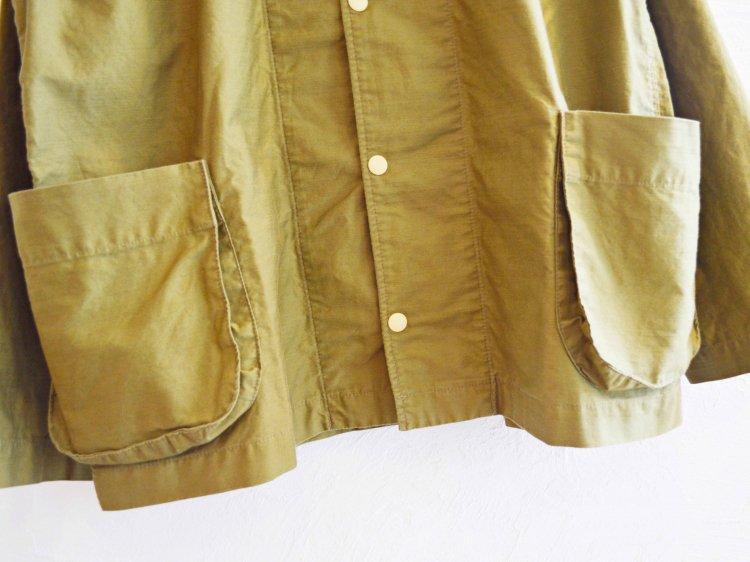 gusset pocket jacket 【khaki】 / modemdesign モデムデザイン