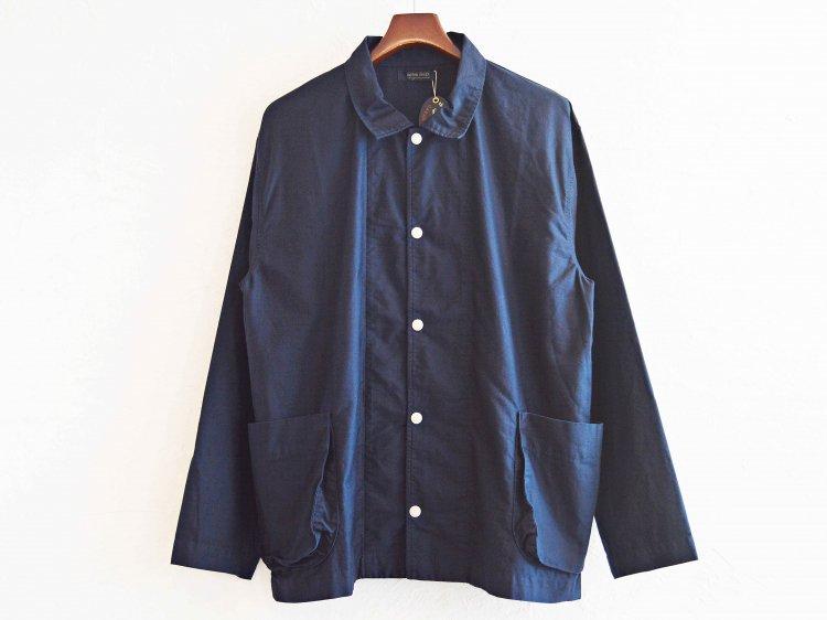 gusset pocket jacket 【navy】 / modemdesign