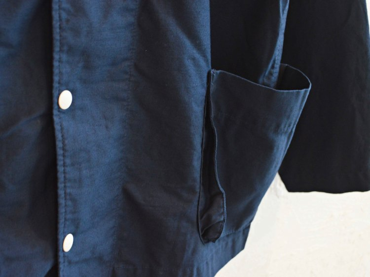gusset pocket jacket 【navy】 / modemdesign モデムデザイン
