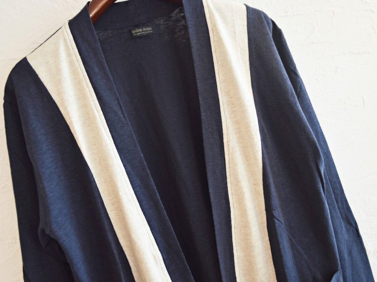 switching cardigan 【navy】 / modemdesign モデムデザイン