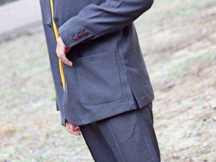 Nasngwam. ナスングワム / JACSON JACKET ジャクソンジャケット (CHARCOAL / チャコール)