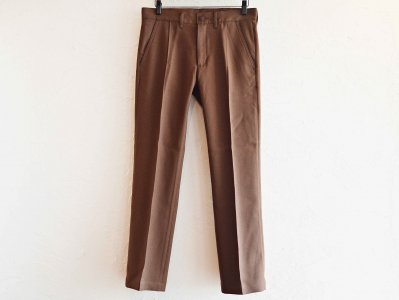 JACSON PANTS 【BROWN】 / Nasngwam.<img class='new_mark_img2' src='https://img.shop-pro.jp/img/new/icons1.gif' style='border:none;display:inline;margin:0px;padding:0px;width:auto;' />