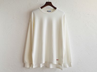 HABIT L/S TEE 【WHITE】 / ionoi<img class='new_mark_img2' src='https://img.shop-pro.jp/img/new/icons1.gif' style='border:none;display:inline;margin:0px;padding:0px;width:auto;' />