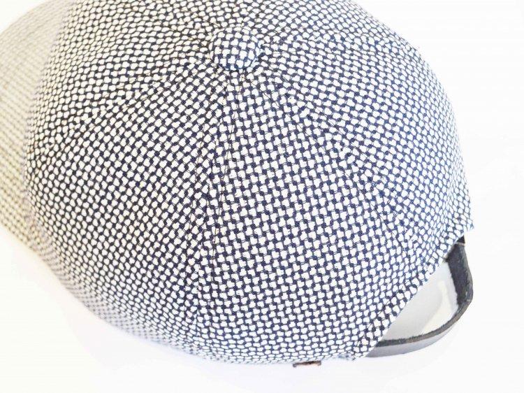 morno モーノ / PAORETTI ITALY B.B CAP ベースボールキャップ (ホワイト×ブラック / WHITE×BLACK)