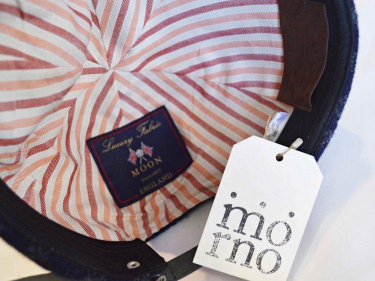morno モーノ / MOON STRIPE  B.B CAP ベースボールキャップ (ネイビー / NAVY)