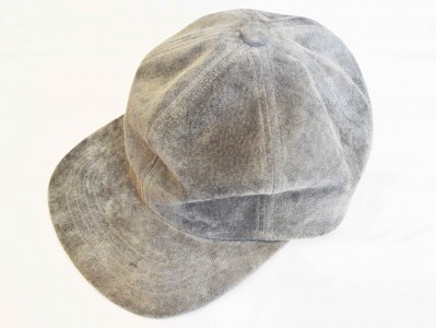 morno モーノ / PIG SUEDE B.B CAP ベースボールキャップ (GRAY / グレー)<img class='new_mark_img2' src='https://img.shop-pro.jp/img/new/icons1.gif' style='border:none;display:inline;margin:0px;padding:0px;width:auto;' />