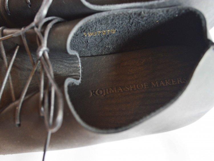 KOJIMA SHOE MAKERS レザーシューズ / KEATON  キートン (BLACK / ブラック)