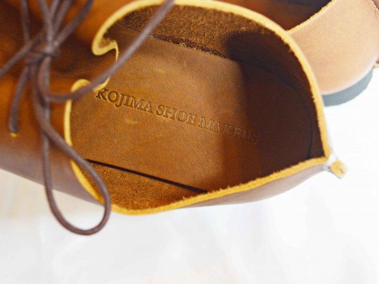 KOJIMA SHOE MAKERS レザーシューズ / KEATON  キートン (BROWN / ブラウン)