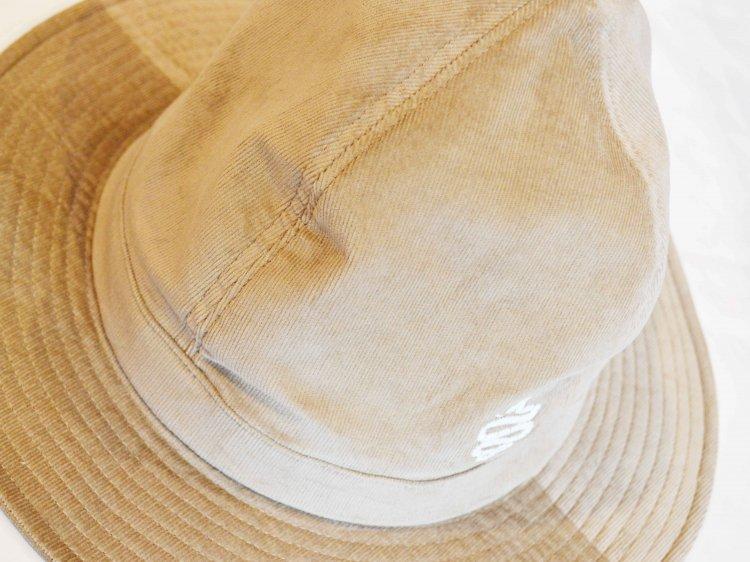 ALDIES アールディ−ズ / CD Chevron Hat コーデュロイ ハット  (BEIGE / ベージュ)