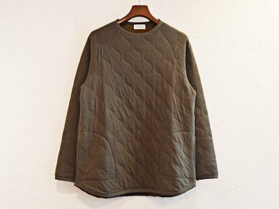 SPINNER BAIT スピナーベイト / MILITARY QUILT CUTSEW ミリタリーキルトカットソー (OLIVE / オリーブ)<img class='new_mark_img2' src='https://img.shop-pro.jp/img/new/icons1.gif' style='border:none;display:inline;margin:0px;padding:0px;width:auto;' />