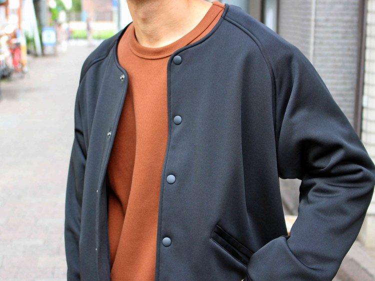 modemdesign モデムデザイン / collarless jacket ノーカラージャケット (BLACK ブラック)
